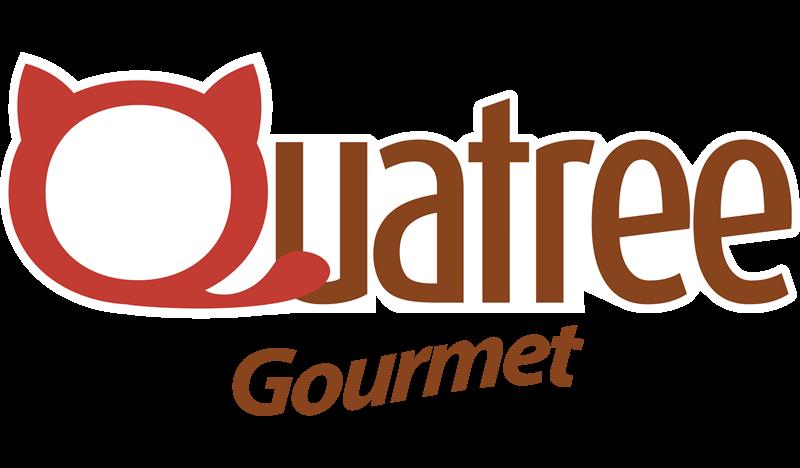 Quatree Gourmet Gatos Adultos Peixe