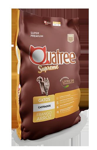 Quatree Supreme Gatos Castrados
